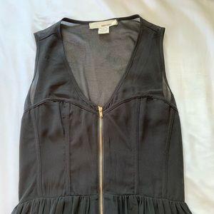 Hi-Low dress with Zip front